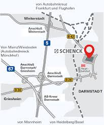 Darmstadt Germany Map by How To Find Us Schenck Rotec Gmbh