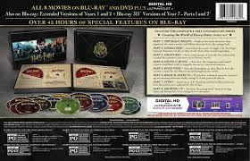 amazon dvd black friday schedule amazon com harry potter hogwarts collection blu ray dvd
