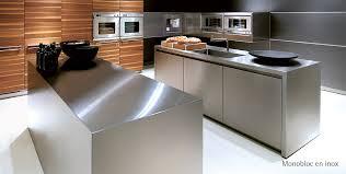 cuisine tout inox où acheter une cuisine design sur mesure à toulouse architectura