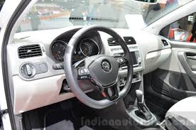 volkswagen polo interior vw polo beats interior at the 2016 geneva motor show indian