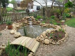 Pond Landscaping Ideas 25 Beautiful Small Backyard Ponds Ideas On Pinterest Small Fish