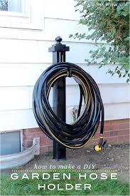 diy garden hose holder love grows wild