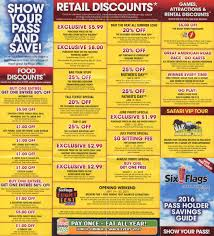 Six Flags Locations Six Flags Season Pass Coupons Bring A Friends The Park Today