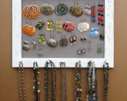 Shabby Chic Jewelry Display by Shabby Chic Jewelry Display Earring Rack Cream 25 40