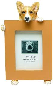amazon com welsh corgi picture frame holds your favorite 2 5 by