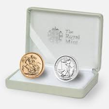 silver wedding gifts gold and silver wedding coins set the royal mint