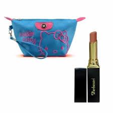 Wardah Lip Balm wardah lip balm strawberry free alisha tas kosmetik mini merah
