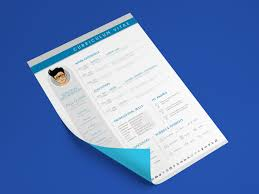 Free Contemporary Resume Templates 29 Fresh Resume Templates For Psd Word Ai Indd Sketch Platforms
