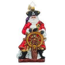 christopher radko ornaments radko bursting with swag santa