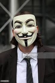 V For Vendetta Mask Guy Fawkes Stock Photos And Pictures Getty Images