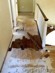 How To Install Laminate Wood Flooring On Stairs Upstairs Hallway 1 Installing Hardwood Floors