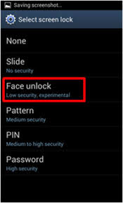 what android version do i how do i use the unlock feature on android version 4 0