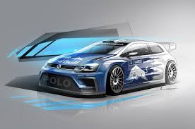 volkswagen sports cars volkswagen 2017 polo r wrc concept unveiled red bull