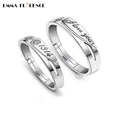 jewelry couple rings images Valentine 39 s day forever love engagement ring fashion 925 sterling jpg