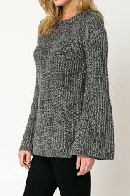 bell sleeve sweater movint bell sleeve sweater from soho by mo vint shoptiques