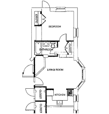 one bedroom cottage floor plans one bedroom house plans vernon house apartments 3226 clifford