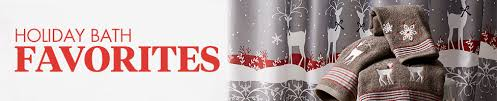 Snowflake Curtains Christmas Holiday Bath Products Christmas Hand Towels Guest Towels U0026 More