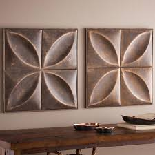 Home Decorating Wall Art by Decorative Iron Wall Art Panels Vivaterra