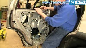 nissan versa quarter panel how to install replace broken rear quarter glass toyota 4 runner