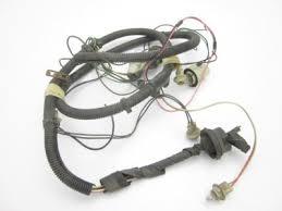 1979 corvette tail lights used 61 47 corvette original tail light l wire harness 1979