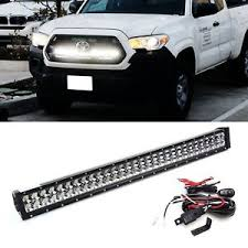 tacoma grill light bar 180w 30 led light bar w behind grill bracket wirings for 16 up