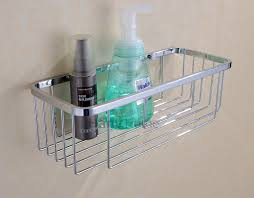 Bathroom Shower Shelves Stainless Steel by Amazon Com Rustproof Shower Caddy Stainless Steel Wall Mount