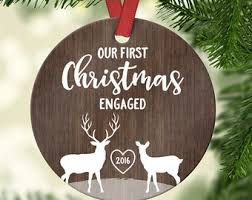 wedding gifts first christmas ornament married wedding