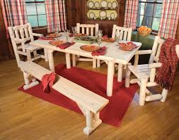 Red Dining Room Table Dining Room Set With Bench Home Design Ideas