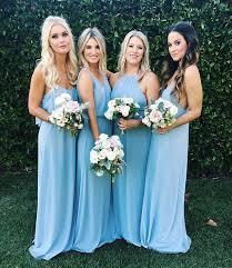 light blue bridesmaid dresses show me your mumu steel blue bridesmaid dresses green and pink