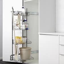 kitchen cabinet storage ideas ikea utrusta pull out rack for cleaning supplies