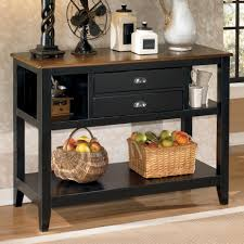 Dining Room Server Furniture Signature Design By Owingsville Two Tone Dining Room Server