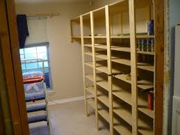 Free Wooden Garage Shelf Plans by Food Storage Shelves I Havent Seen Any Diy Plans Storage Room