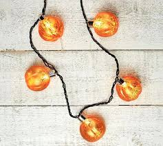 mercury glass string lights pumpkin string lights led tall orange mercury glass ewakurek com