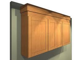 The Best Cabinet Site  Shaker Style Kitchen Crown Moulding - Kitchen cabinets moulding