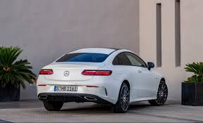 mercedes e400 coupe the 2018 mercedes e class coupe is the middle ground