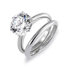 silver wedding ring sets silver wedding ring set wedding decorate ideas