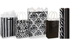 black gift wrapping paper gift bags gift wrap wrapping paper tissue paper party city