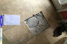 Floor Tile Repair Travertine Hole Repair Floor Refinishing Natural Stone And