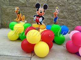 mickey mouse clubhouse party mickey mouse clubhouse birthday party balloon wood guest table