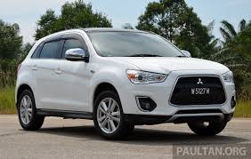 mitsubishi asx 2014 driven mitsubishi asx u2013 now ckd and great value image 254161
