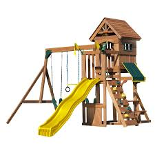 shop heartland fort sentry playset at lowes com