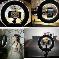 best led ring light youtuber led ring light panel inner 235mm outer 345mm make up white