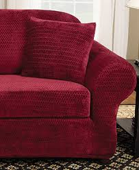 Sure Fit Slipcovers Review Sure Fit Stretch Royal Diamond 2 Piece Slipcover Collection