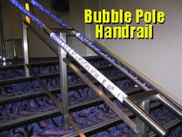 Illuminated Handrail Poles