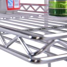Baker Rack 4 Tiers Metal Microwave Oven Stand Baker Rack With Casters