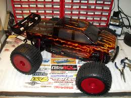 monster truck nitro 3 truck of the week 3 10 2013 losi lst2 electric conversion rc