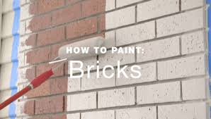 how to paint exterior brick walls youtube