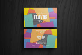 50 best free psd business card templates