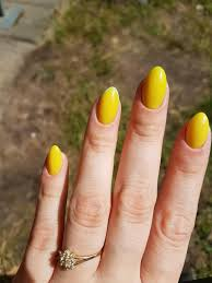 Yellow Mustard Color I U0027ve Never Made A Yellow Nails On Myself Before But Now I Felt