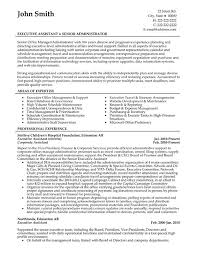 executive assistant and office administrator resume template